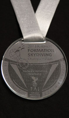 Silver Medal at FAI World Meet 2014 VFS 4-Way with Arizona Arsenal