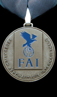 Silver Medal at FAI World Meet 2008 with Team Blue