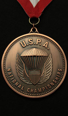 Bronce Medals at USPA Nationals in 4-Way VFS Open in 2015, 2016, and 2017