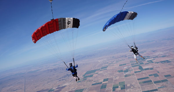 In-air Skills: Dynamic Formations