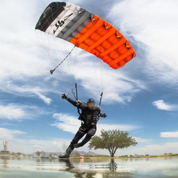 Canopy Piloting: Flying Through Gates