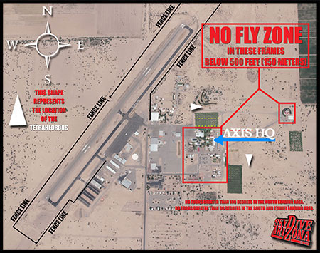 Map of Skydive Arizona