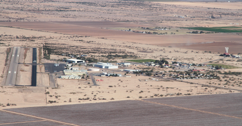Ambience at Skydive Arizona: aerial view
